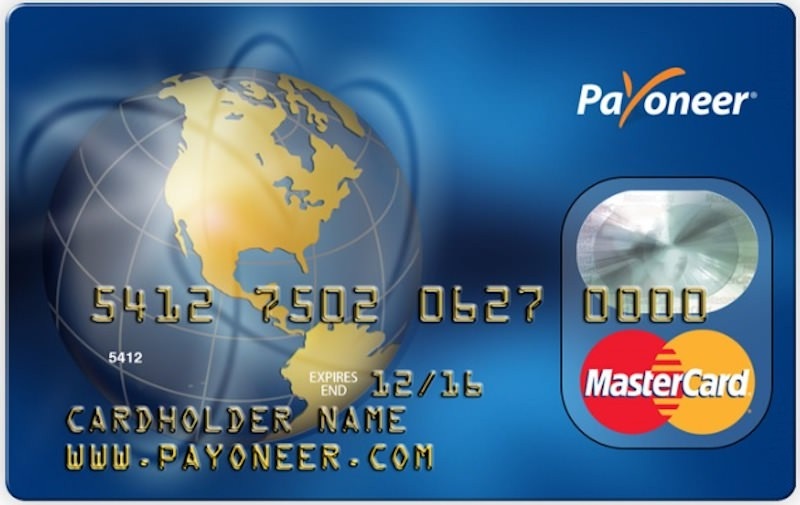 Click for your own Payoneer-Prepaid-MasterCard-Karte